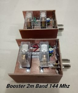 Rellay Booster 2M Band 144 Mhz