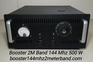 Booster 2M Band 144Mhz Tabung 500 W