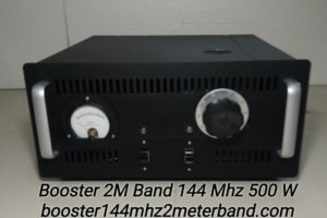 Boster 2M Band 144Mhz Tabung 500 W